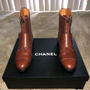 New women's Chanel Ankle riding boots